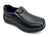 Toddler Boys Black Slip-On Shoes