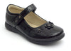 Girls Black Spring Saddle Shoes - Boston School Uniform