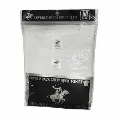 Beverly Hills Polo Club - 2-Pack Boys Crew Neck T-Shirt