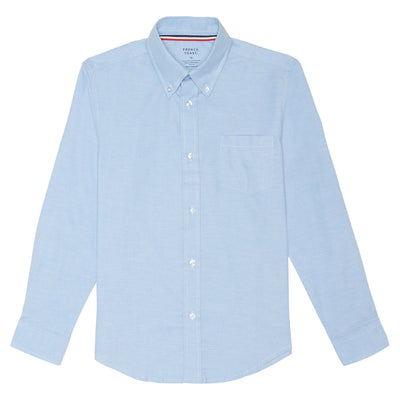 Long Sleeve Oxford Shirt - Boston School Uniform