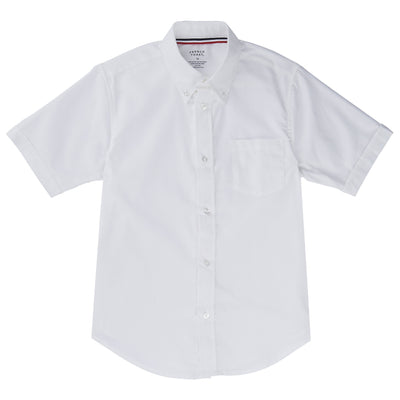 Short Sleeve Oxford Shirt - Young Men's - Boston School Uniform
