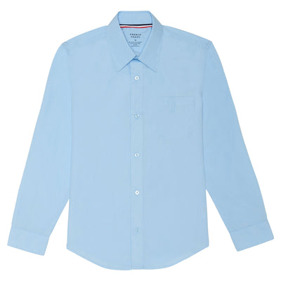 Boys Long Sleeve Classic Dress Shirt - Boston School Uniform