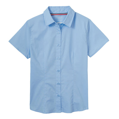 Short Sleeve Stretch Shirt - Juniors - Boston School Uniform