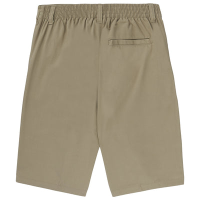 Boys Pull-On Shorts - Khaki - Boston School Uniform