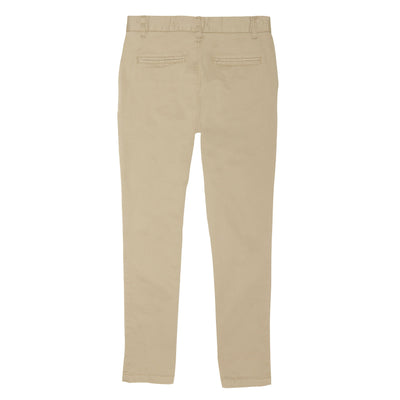 Boys Straight Fit Stretch Chino Pants - Boston School Uniform