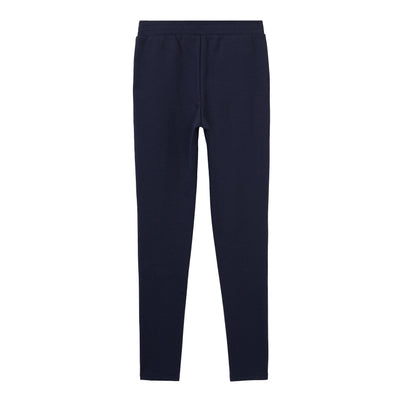 Stretch Ruffle Knit Pull-On Pants - Boston School Uniform