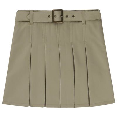 Belted Pleat Scooter - Plus Size - Boston School Uniform