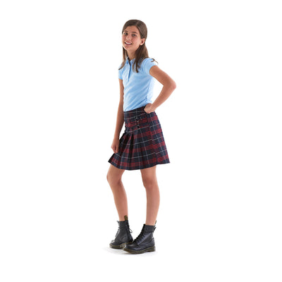 Girls Short Sleeve Peter Pan Collar Polo - Boston School Uniform