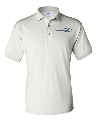 Foxborough Regional Charter Short Sleeve Polo - Adult - Screen Printed