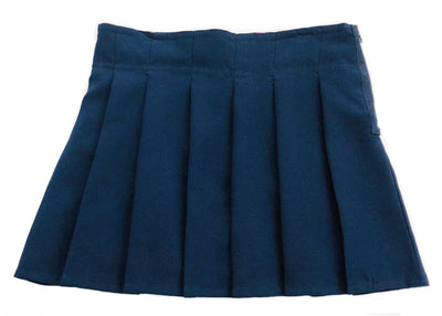 Girls Pleated Scooter - Navy - Boston School Uniform