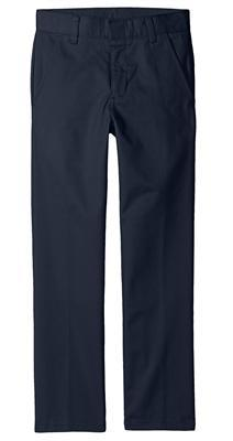 Boys Flat Front Pants - Husky Sizes - Boston School Uniform