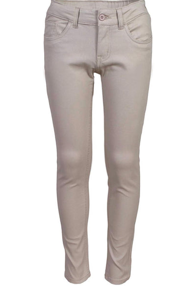 Beverly Hill Polo Club Girls Skinny-Fit Stretch-Twill Pants - Boston School Uniform