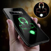 Marvel Patterned Tempered Glass Phone Case