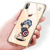 Marvel Cartoon Patterned Phone Case