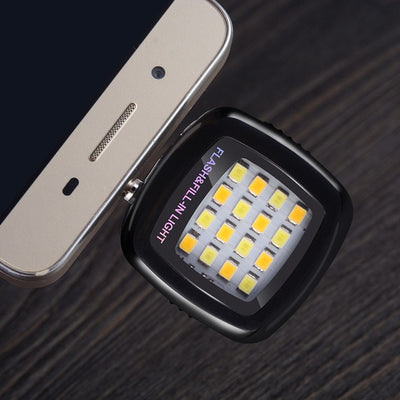 Led Flash Light Phone Camera Lens