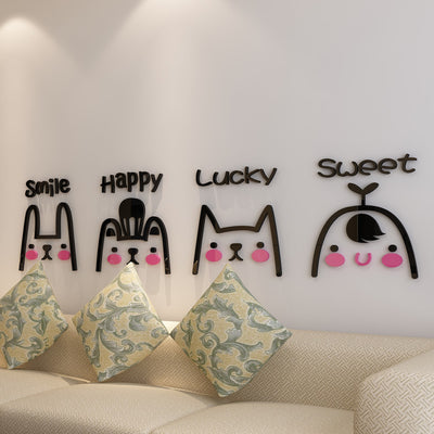 Cartoon Wall Stickers