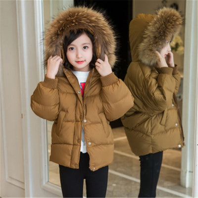 Warm Hooded Kids Clothes
