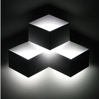 Ice Cube 3D Wall Lamp