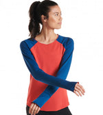 Oiselle Bird Hug Reversible Long Sleeve