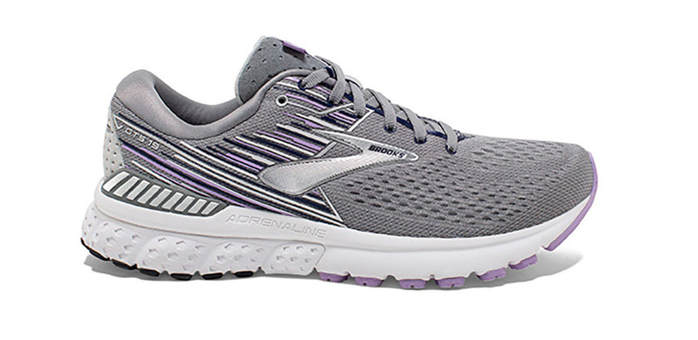 Gray white women's running shoes - San Diego Running Gear
