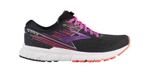 Black pink purple women's running shoes - San Diego Running Gear