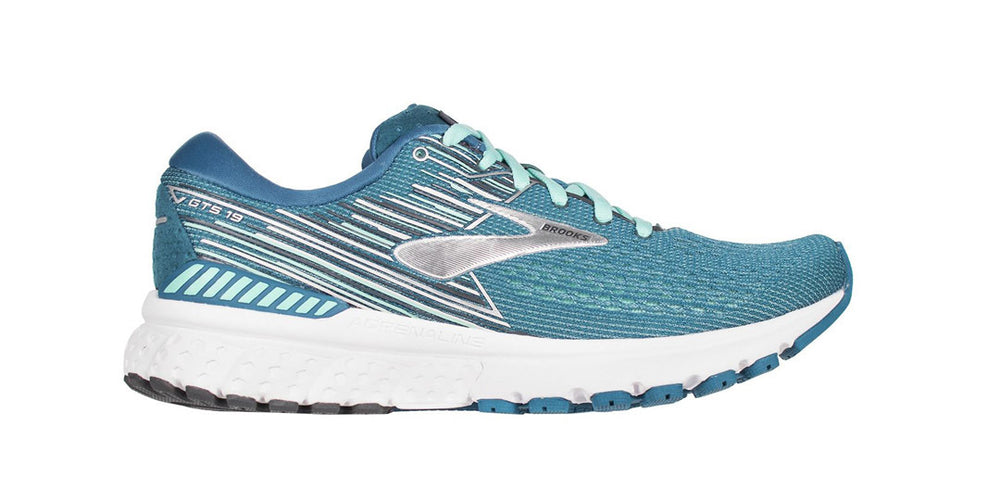 Turquoise White Women's running shoes - San Diego Running Gear