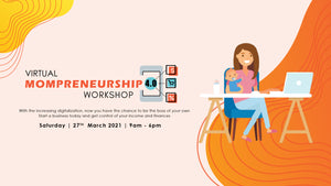 Celebrating Mompreneurship in March 2021 (International Women's Day - 8th March)
