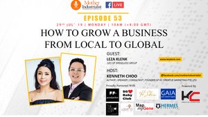 "Mother Industrialist LIVE Show EP053: ""How To Grow A Business from Local to Global"" with Leza Klenk"