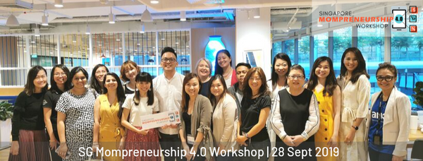 280919 Singapore Mompreneurship 4.0 Workshop 2019 Group pic
