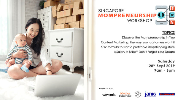 28th Sept 2019 - Singapore Mompreneurship 4.0 Workshop 2019