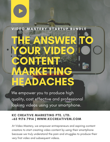Video Mastery Startup Bundle front