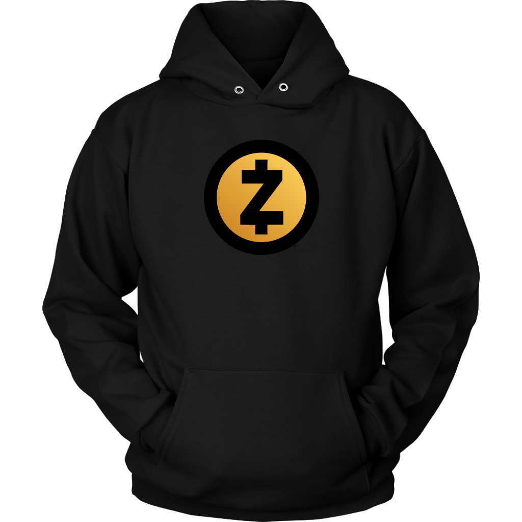 Zcash Gold Logo Hoodie