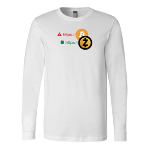 Zcash is Secure Long Sleeve Shirt
