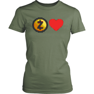 Zcash ASCII Art Womens Shirt