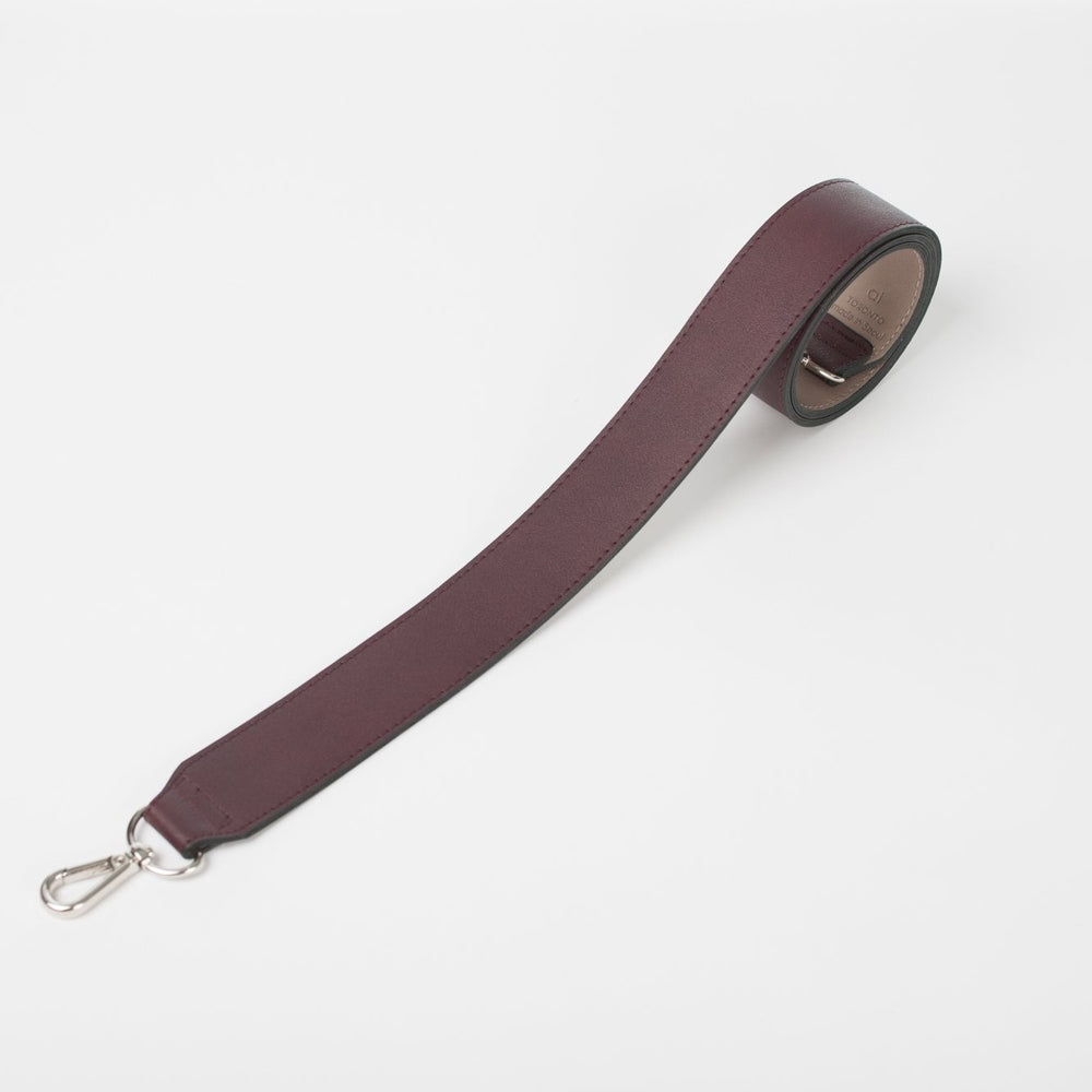 Bag Strap Burgundy/Light Taupe