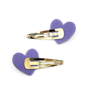 Heart Series: Purple Pin Set