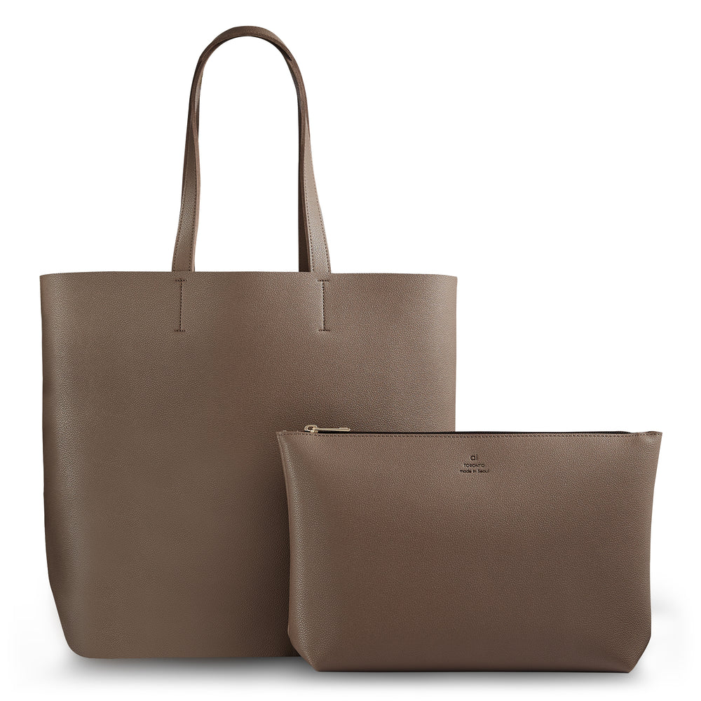 City Tote Light Taupe
