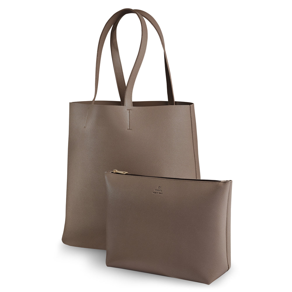 City Tote Caramel with Pouch