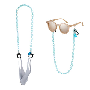 Mask Chain 22 Light Blue