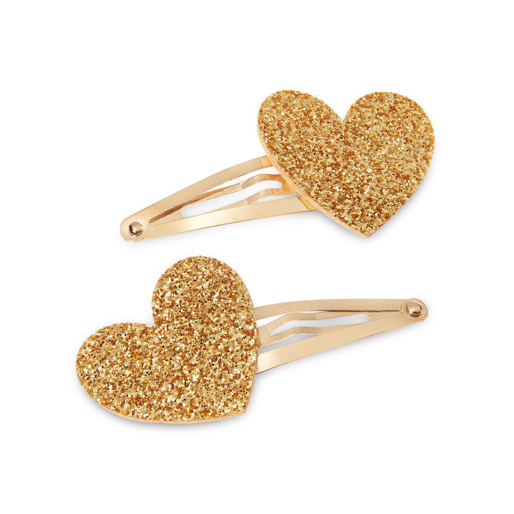 Heart Series: Gold Pin Set