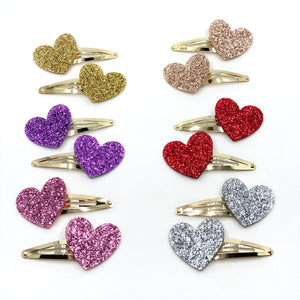 Heart Series: Silver Pin Set