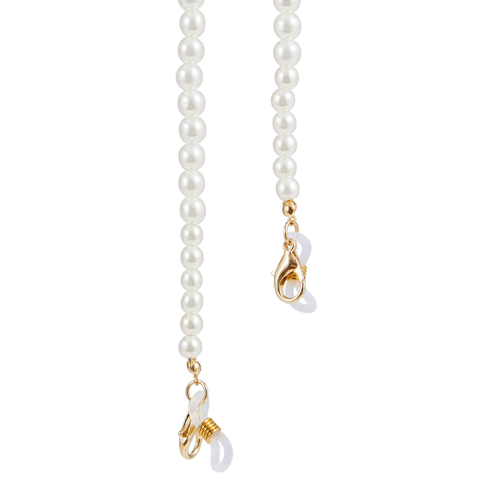 Mask Pearl Necklace