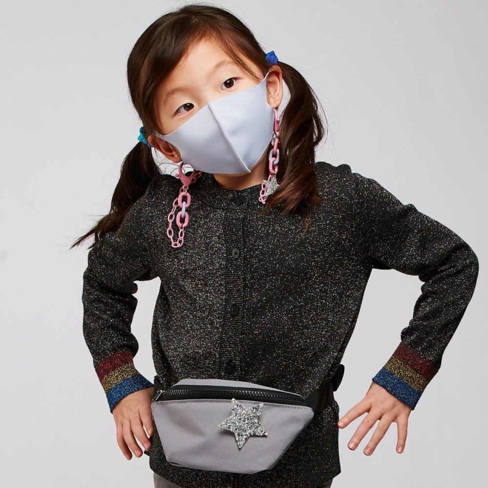 Mask Social Child Light Grey