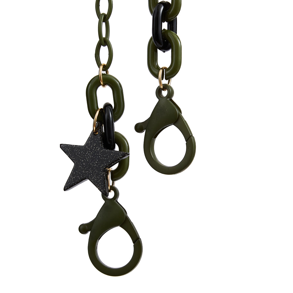 Mask Chain Star Olive
