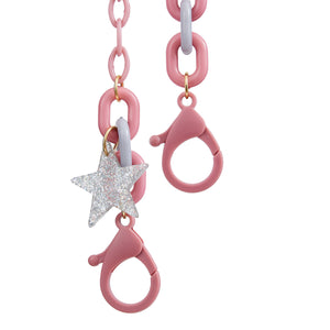 Mask Chain Star Pink