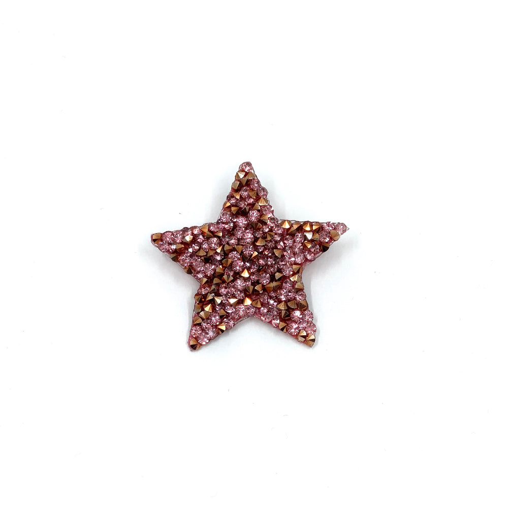 Badge Sparkle Star Pink
