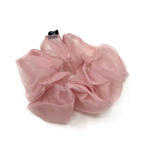 Organza Scrunchie Rose