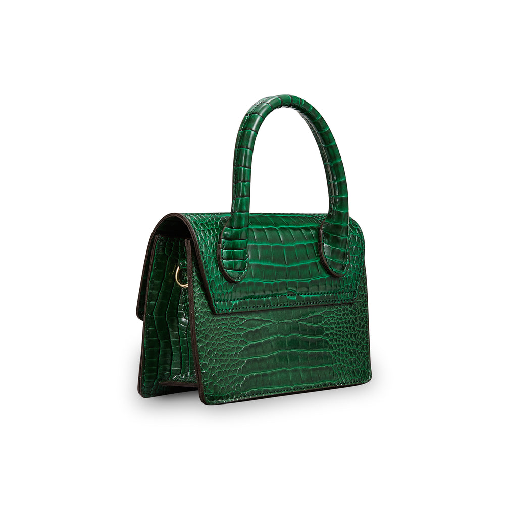 Mini Croc Bright Green