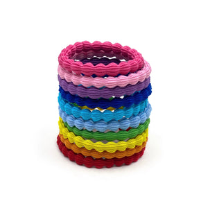 Hair Ties Rainbow