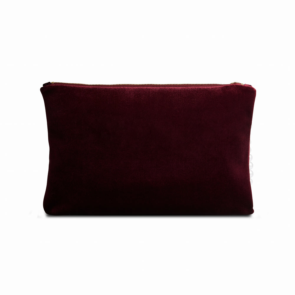 VP Clutch Burgundy
